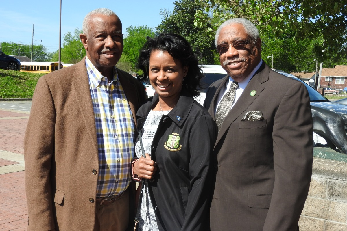 John Walker, Joy Springer, Charles Donaldson